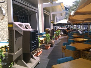 water cooler restaurant Dubai
